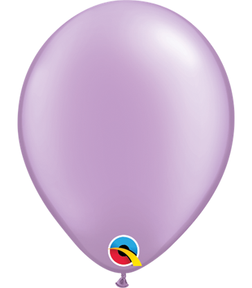 """Pearl Lavender Pack of 100 5"""" latex balloons"""