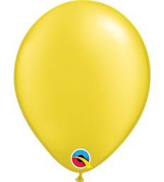 "Pearl Yellow Pack of 100 11"" latex balloons"