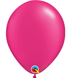 "Pearl Magenta Pack of 100 11"" latex balloons"