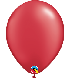 "Pearl Red Pack of 100 11"" latex balloons"