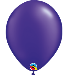 "Pearl Quartz Purple Pack of 100 11"" latex balloons"
