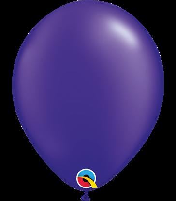 "Pearl Quartz Purple Pack of 100 11"" latex balloons"