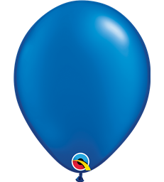 "Pearl Sapphire Blue Pack of 100 11"" latex balloons"
