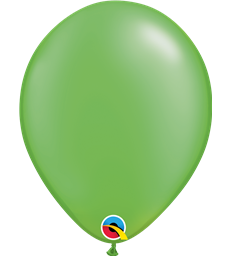 "Pearl Lime Green Pack of 100 11"" latex balloons"