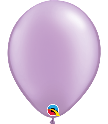 """Pearl Lavender Pack of 100 11"""" latex balloons"""