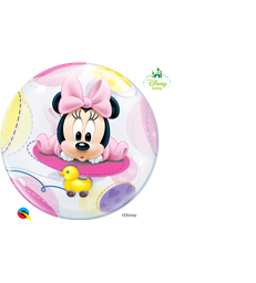 "Disney Baby Minnie Mouse 22"" balloon"