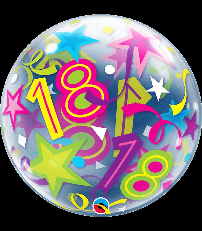 """18 Brilliant Stars 22"""" balloon"""
