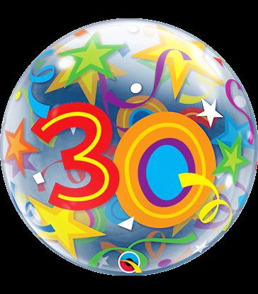 """30 Brilliant Stars 22"""" balloon"""