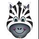 "Zany Zebra 32"" balloon"
