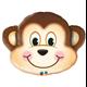 """Mischievous Monkey 35"""" balloon"""