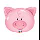 """Playful Pig 30"""" balloon"""