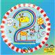 "Rachel Ellen - Age 2 Giraffe Stripes 18"" balloon"