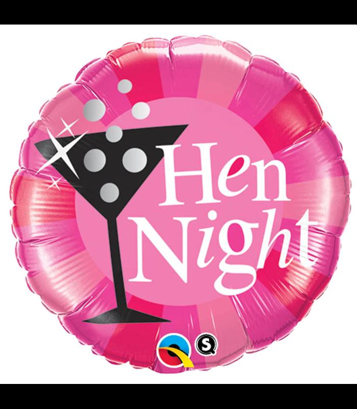 """Hen Night Pink 18"""" balloon"""