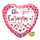 "Rachel Ellen - On Your Engagement 18"" balloon"
