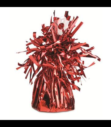 Red Foil Fringe Weights