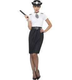 British Police Lady Costume