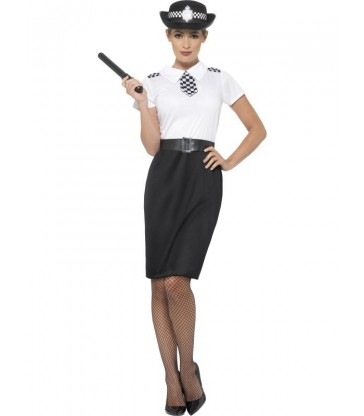 British Police Lady Costume
