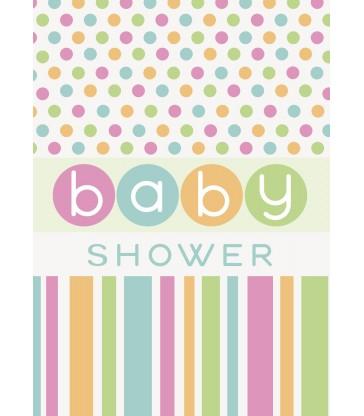 8 PASTEL BABY SHOWER INVITES