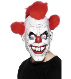Clown 3/4 Mask