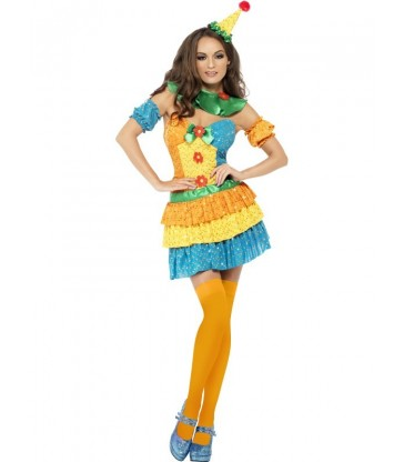 Colourful Clown Cutie Costume