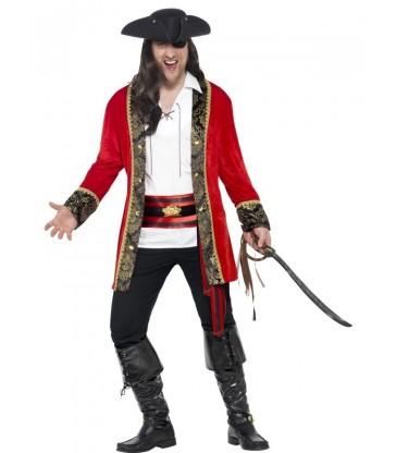 Curves Pirate Captain Costume