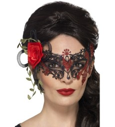 Day of the Dead Devil Mask, Adult