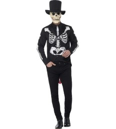 Day of the Dead Se±or Skeleton Costume