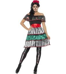Day of the Dead Senorita Doll Costume