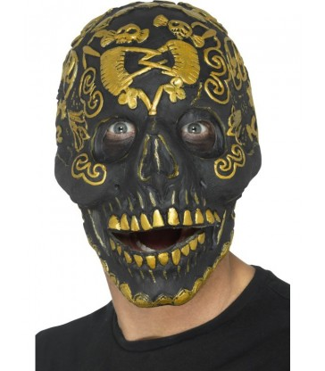 Deluxe Masquerade Skull Mask