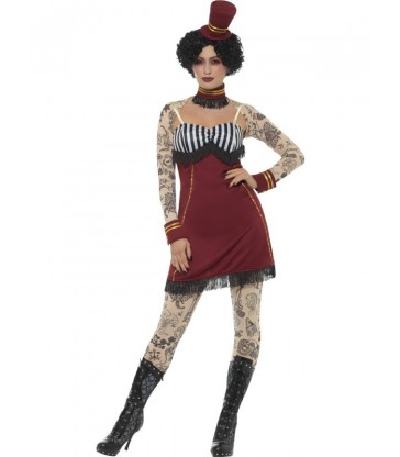 Deluxe Tattoo Lady Costume