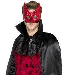 Devil Masquerade Eyemask, Red