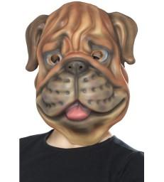 Dog Mask, EVA, Brown