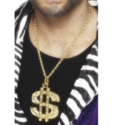 Dollar Sign Medallion