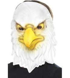 Eagle Mask, White & Yellow