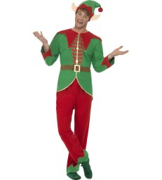 Elf Costume, Green