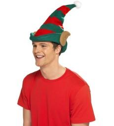 Elf Hat, Red & Green