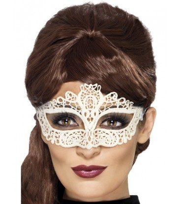 Embroidered Lace Filigree Eyemask2