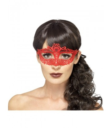 Embroidered Lace Filigree Eyemask3