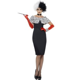 Evil Madame Costume, Black
