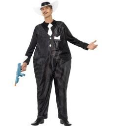 Fat Cat Costume, Black