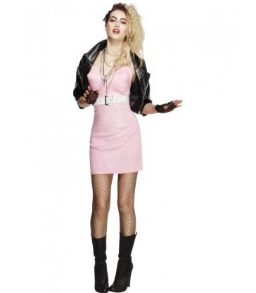Fever 80s Rocker Diva Costume