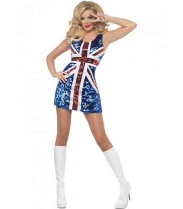 Fever All that Glitters Rule Britannia Costume