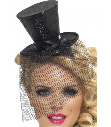 Fever Mini Top Hat on Headband6