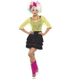 80s Pop Tart Costume, Black & Yellow