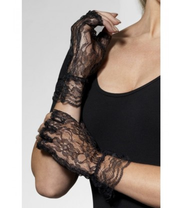 Fingerless Lace Gloves2