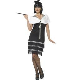 Flapper Costume, Black