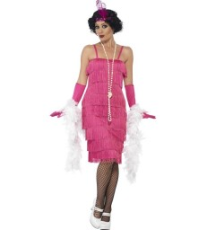 Flapper Costume, Pink