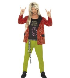 80s Rock Star Costume,