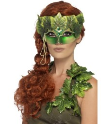 Forest Nymph Eyemask, Green