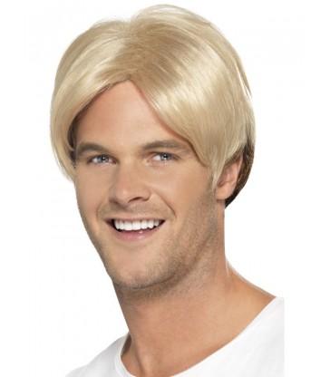 90s Boyband/Footballer Curtain Wig